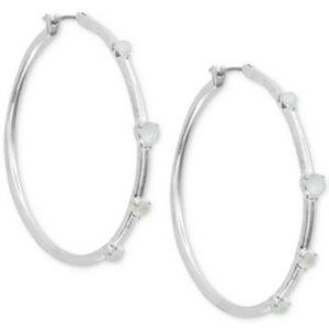 Lucky Brand Hoops w/ Faux Mother of Pearl (V362)